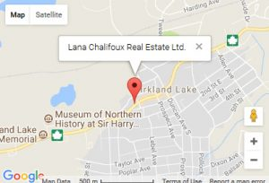 Lana Chalifoux Real Estate Location